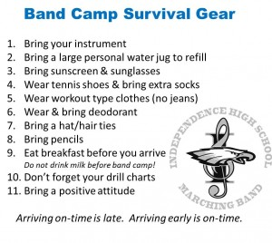 band camp survival
